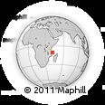"Outline Map of the Area around 10° 48' 54"" S, 41° 43' 30"" E, rectangular outline"