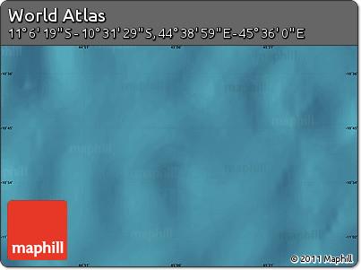 "Satellite Map of the Area around 10°48'54""S,45°7'30""E"