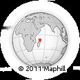 "Outline Map of the Area around 10° 48' 54"" S, 49° 22' 30"" E, rectangular outline"