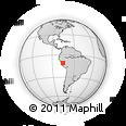 Outline Map of Villa Rica, rectangular outline