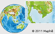 Physical Location Map of Phumĭ Chitréh (1)