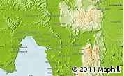 Physical Map of Phumĭ Chitréh (1)