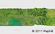Satellite Panoramic Map of Chhkê Prŭs (2)