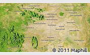 Satellite 3D Map of Phumĭ Âmpĭl Krânhĕnh