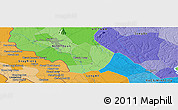 """Political Panoramic Map of the area around 11°9'41""""N,106°19'29""""E"""