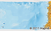"""Political 3D Map of the area around 11°9'41""""N,121°37'30""""E"""