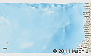 """Shaded Relief 3D Map of the area around 11°9'41""""N,121°37'30""""E"""