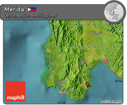 Free Satellite Map of Merida