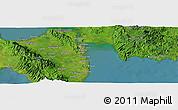 "Satellite Panoramic Map of the area around 11°9'41""N,125°1'30""E"