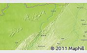 Physical 3D Map of Yabiti