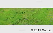 Satellite Panoramic Map of Konkobiri