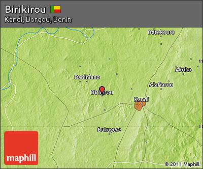 Physical Map of Birikirou