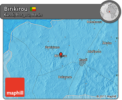 Political Map of Birikirou