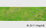Satellite Panoramic Map of Loussi