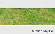 Satellite Panoramic Map of Bilatio