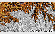 """Physical 3D Map of the area around 11°9'41""""N,39°10'29""""E"""