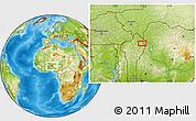 Physical Location Map of Banikani