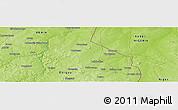 Physical Panoramic Map of Banikani