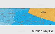 Political Panoramic Map of Banikani