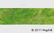 Satellite Panoramic Map of Banikani