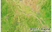 "Satellite Map of the area around 11°9'41""N,4°19'30""E"