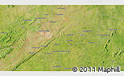 Satellite 3D Map of Bobo Dioulasso