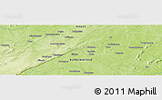 Physical Panoramic Map of Larama
