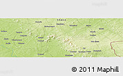 Physical Panoramic Map of Ngolabougou