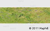 Satellite Panoramic Map of Ngolabougou