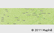 Physical Panoramic Map of Bouassa