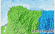 Political Map of Santa Marta