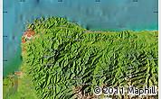 Satellite Map of Santa Marta