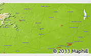 """Physical 3D Map of the area around 11°9'41""""N,79°7'30""""E"""