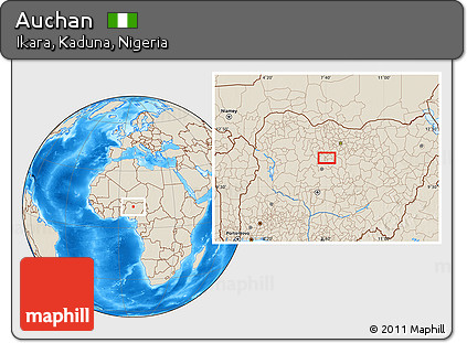 free shaded relief location map of auchan. Black Bedroom Furniture Sets. Home Design Ideas