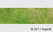"Satellite Panoramic Map of the area around 11°9'41""N,7°34'30""W"