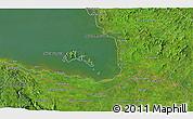 Satellite 3D Map of San José