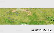Satellite Panoramic Map of Gidan Maigaru
