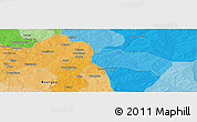 """Political Panoramic Map of the area around 11°40'49""""N,0°4'30""""E"""
