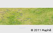 "Satellite Panoramic Map of the area around 11°40'49""N,0°4'30""E"