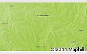 Physical 3D Map of Tambarga