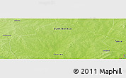 "Physical Panoramic Map of the area around 11° 40' 49"" N, 0° 55' 29"" E"