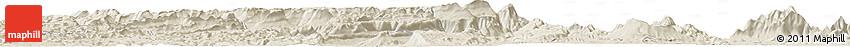 Shaded Relief Horizon Map of Phumĭ Âmpĭl
