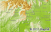 """Physical Map of the area around 11°40'49""""N,103°46'30""""E"""