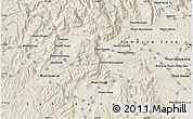 Shaded Relief Map of Phumĭ Âmpĭl