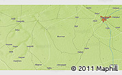 """Physical 3D Map of the area around 11°40'49""""N,12°49'29""""E"""
