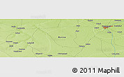 """Physical Panoramic Map of the area around 11°40'49""""N,12°49'29""""E"""