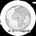 Outline Map of Mairamri, rectangular outline