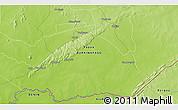 Physical 3D Map of Diaboandi