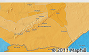 """Political 3D Map of the area around 11°40'49""""N,1°46'29""""E"""