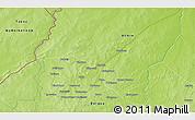 Physical 3D Map of Igouvino